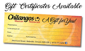 Chilangos Mexican Restaurant Gift Certificate