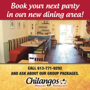 Book your next party at Chilangos